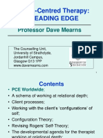 Dave Mearns - Person-Centred Therapy - A Leading Edge