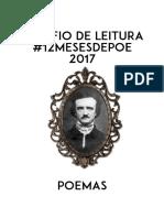 #12MESESDEPOE 2017 - Poemas