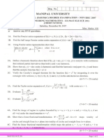 Engineering Mathematics - III (MAT-ELE-ICE-201) CS