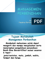 Is Managemen Perbenihan