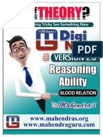 Digi Notes Reasoning Blood Relation 12-04-2017 English