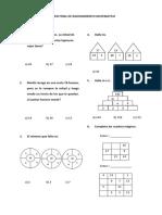 Examen Final de Razonamiento Matematico