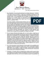 Resolución Nº7 2013 JNE