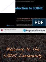 2017 06 07 - An Introduction to LOINC
