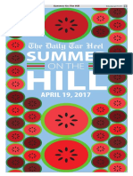Summer on the Hill for April 19, 2017