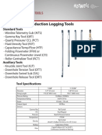 Production Logging Tools 2014