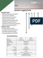 Production Logging Tools 2014