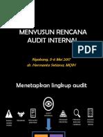 03. Menyusun Rencana Audit Internal