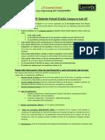 Bases Reguladoras VII Campeonato Quijote Futsal Cracks Categoría Sub18