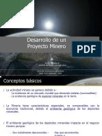 02. Desarrollo de Un Proyecto Minero.