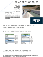 Canales No Erosionables diapositivas
