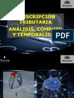Curso PrescripcionTrib SECAP 2016