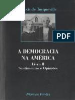 Tocqueville Capítulo Sobre Os Historiadores a Democracia Na America Vol2