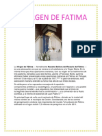 La Virgen de Fatima