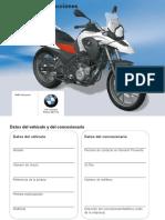 manual usuario bmw gs 650