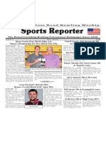 May 31 - June 6, 2017  Sports Reporter