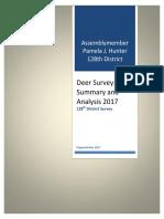 Deer Survey & Analysis - June 2017