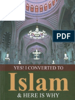 Yes! I Converted to Islam & Here is Why