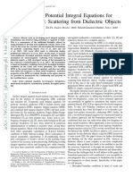 Decoupled Potential Integral Equations for Electromagnetic Scattering from Dielectric Objects