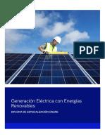 Especialización Online en Energias Renovables PDF