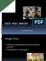 Data Post Mortem