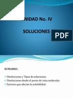 Clase 8 y 9 Unidad IV Soluciones