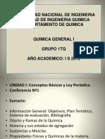 CLASE 1 Conceptos Básicos y Ley Periódica