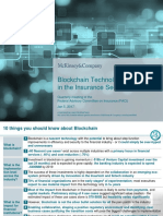 McKinsey FACI Blockchain in Insurance