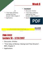 FINA 3332 Lecture 10