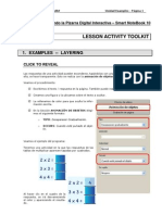 Tutorial Lesson Activity Toolkit - Examples