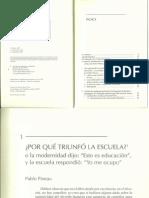 La Escuela Como Máquina de Educar.PINEAU, Pablo; DUSSEL, Inés y CARUSO, Marcelo.