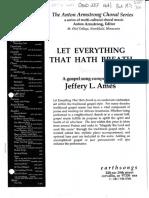 Let Everything That Hath Breath-Jeffrey Ames