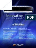 Mvision Hd-300 Combo Leaflet Version 2010