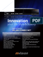 Mvision Hd-300 Combo Net Leaflet Version 2010
