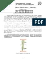 FG II Lista 10- Termodinâmica