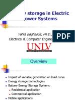 Energy Storage Slides