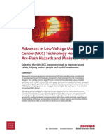 Advances in Low Voltage Motor Control Technology Help reduce arc flash hazards.pdf