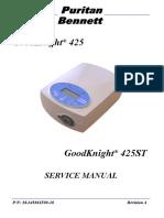GoodKnight® 425ST - Service Manual