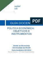 Politica Economica Prog