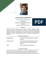 CV Luciano Astudillo