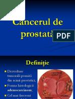 9.Cancerul de Prostată