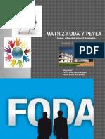 j y a Matriz Foda y Peyea