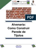 Alvenaria- Como Construir Parede de Tijolos