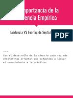 2. Estudios Empíricos vs No Empíricos