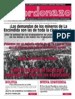 """El Cordonazo"" N° 15"