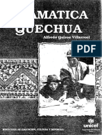 Gramática Quechua Boliviano - Normalizado