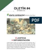 Boletín 4 - Alerta Ambiental