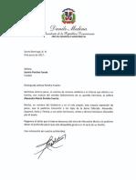Danilo Medina se une al dolor de la familia Periche Fuerte por el deceso de Alexandra María