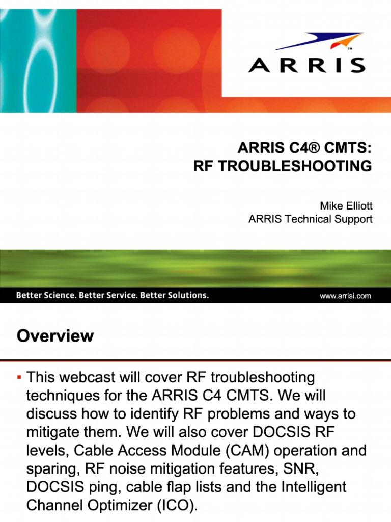 rf arris pdf   Forward Error Correction   Distortion