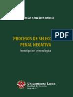 Gonzalez Procesos Seleccion Penal Negativa